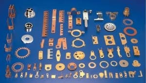 Brass Sheet metal parts Pressed Parts Brass Sheet metal Components