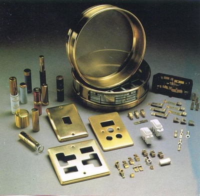 Brass Stamped Parts Brass Stamped Components Brass Stamping and forging