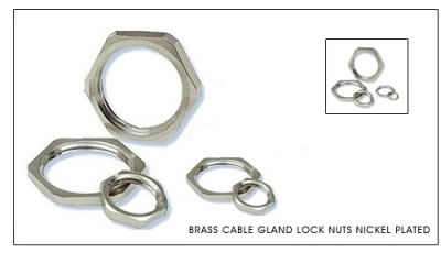 brass_cable_gland_lock_nuts_nickel_plated