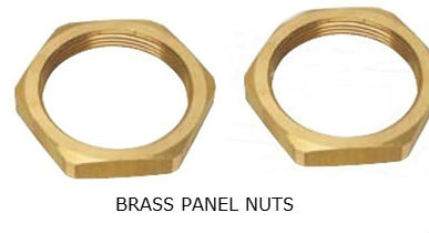 brass_panel_nuts_lock_nuts