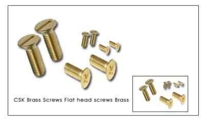 csk_brass_screws_flat_head_screws_brass