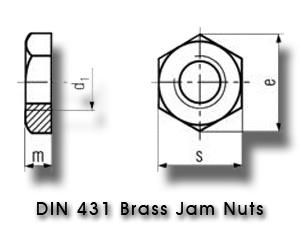 din_431_brass_jam_nuts