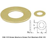 Brass Flat washers, Din 125 Washers, ISo 7089 Brass Washers, Bronze Washers Copper Washer ISO 7090 Brass