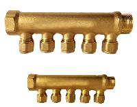 Brass Manifold Forged