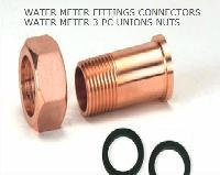 Brass Water Meter Couplings Brass Water Meter Fittings Water Meter unions  Brass Water Meter Nuts from India